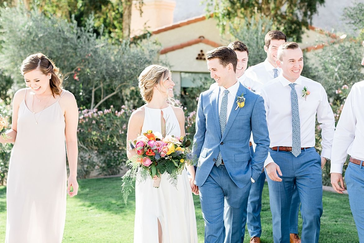 Bright California Wedding