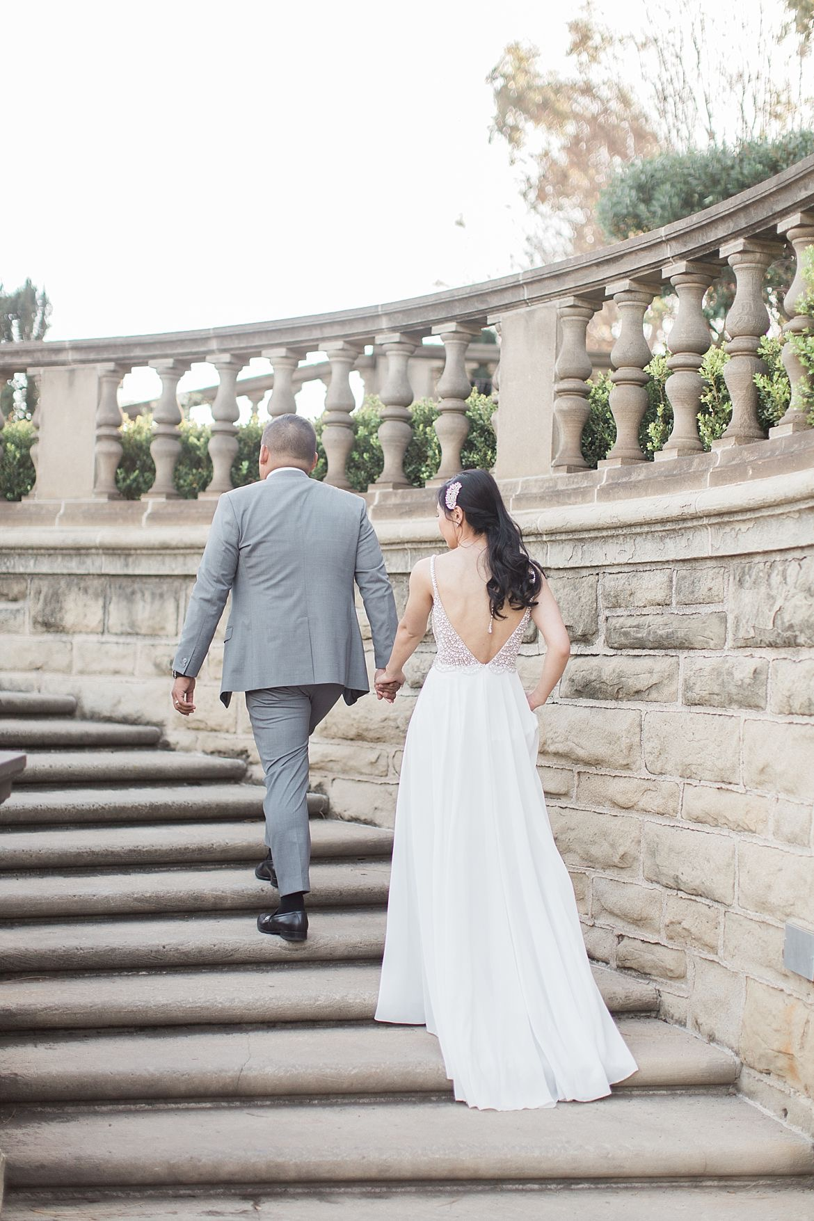 Greystone Mansion Engagement Session
