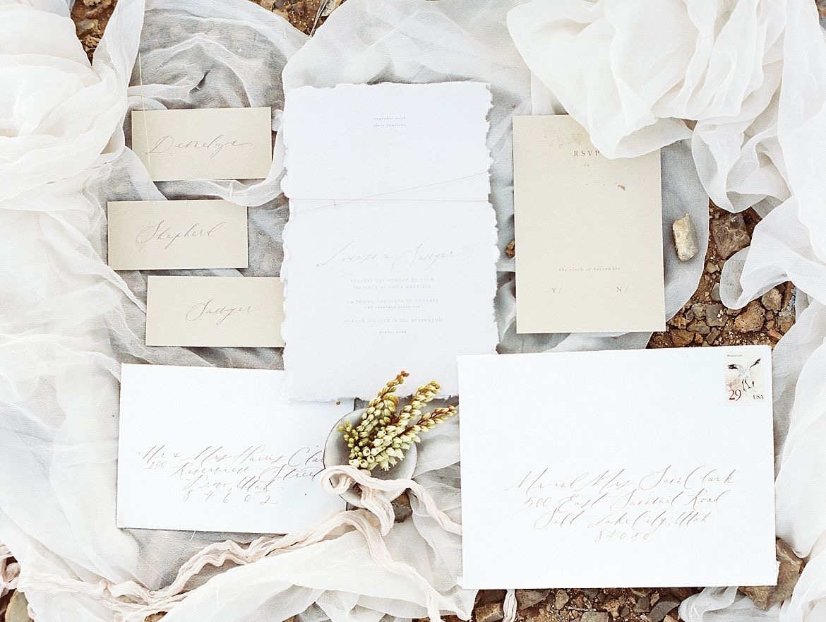 Red Rock Canyon Wedding Inspiration