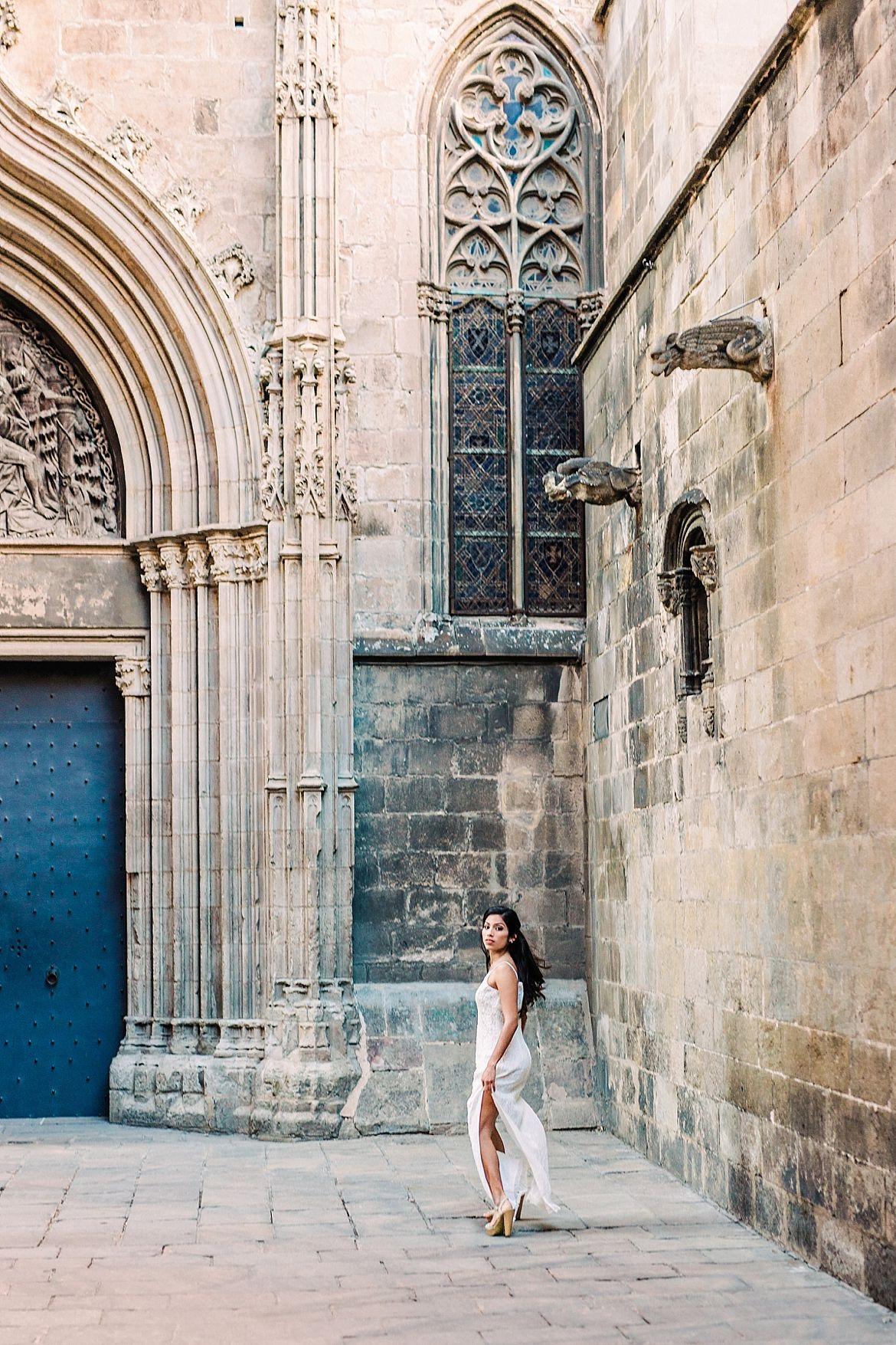 Barcelona Bridal Inspiration
