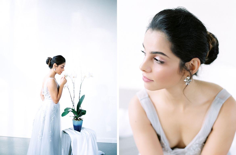 Minimalist Bridal Style