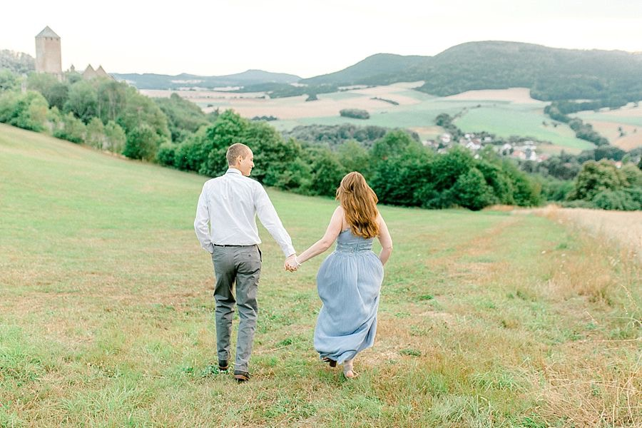 Castle Engagement Session Inspiration
