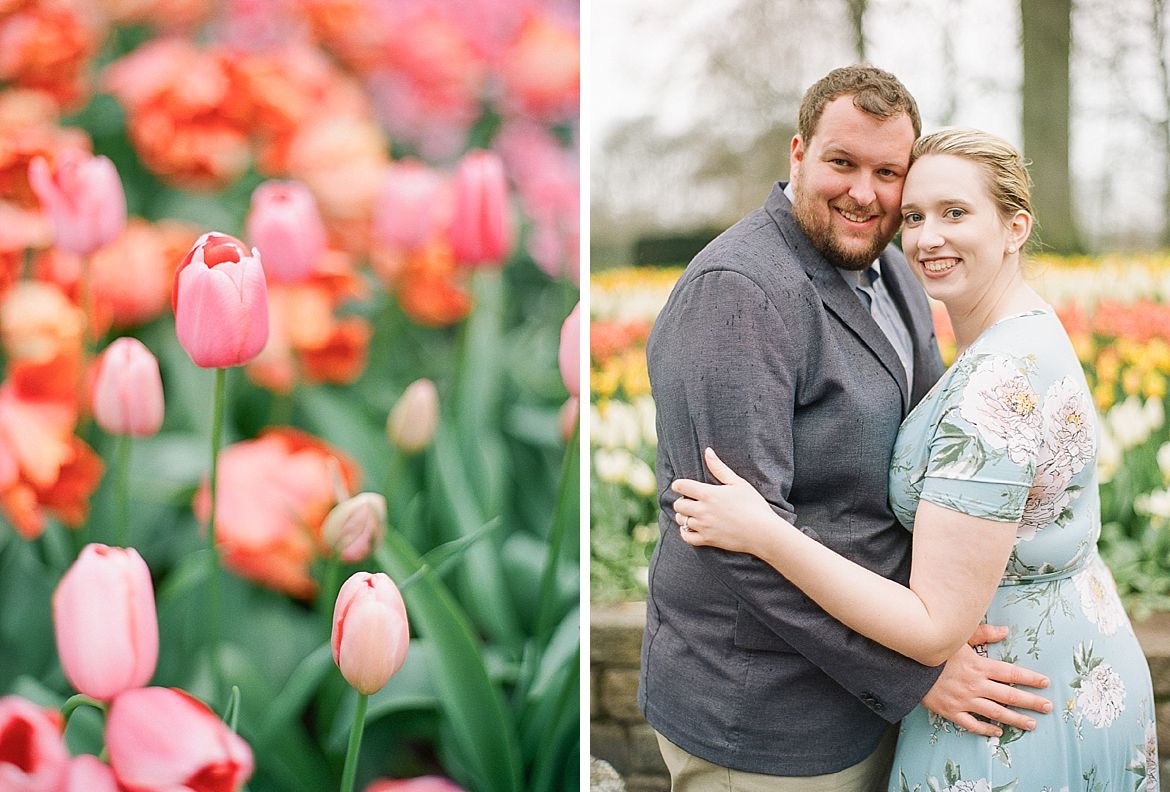 Tulip Engagement Session