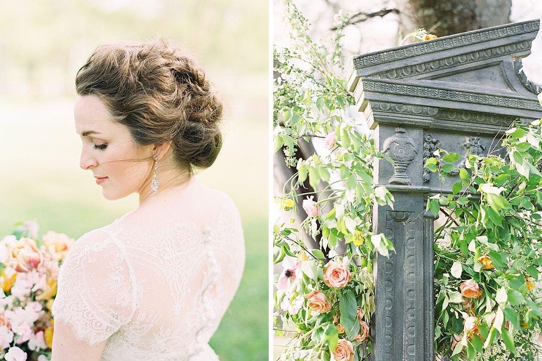 Monet Garden Wedding Inspiration