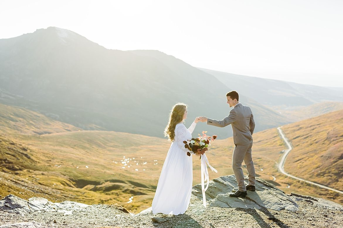 Mountain Anniversary Session