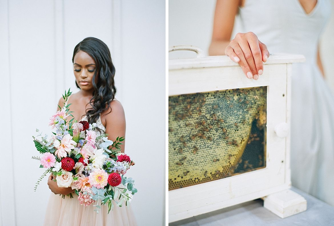 Honey Bee Bridal Session