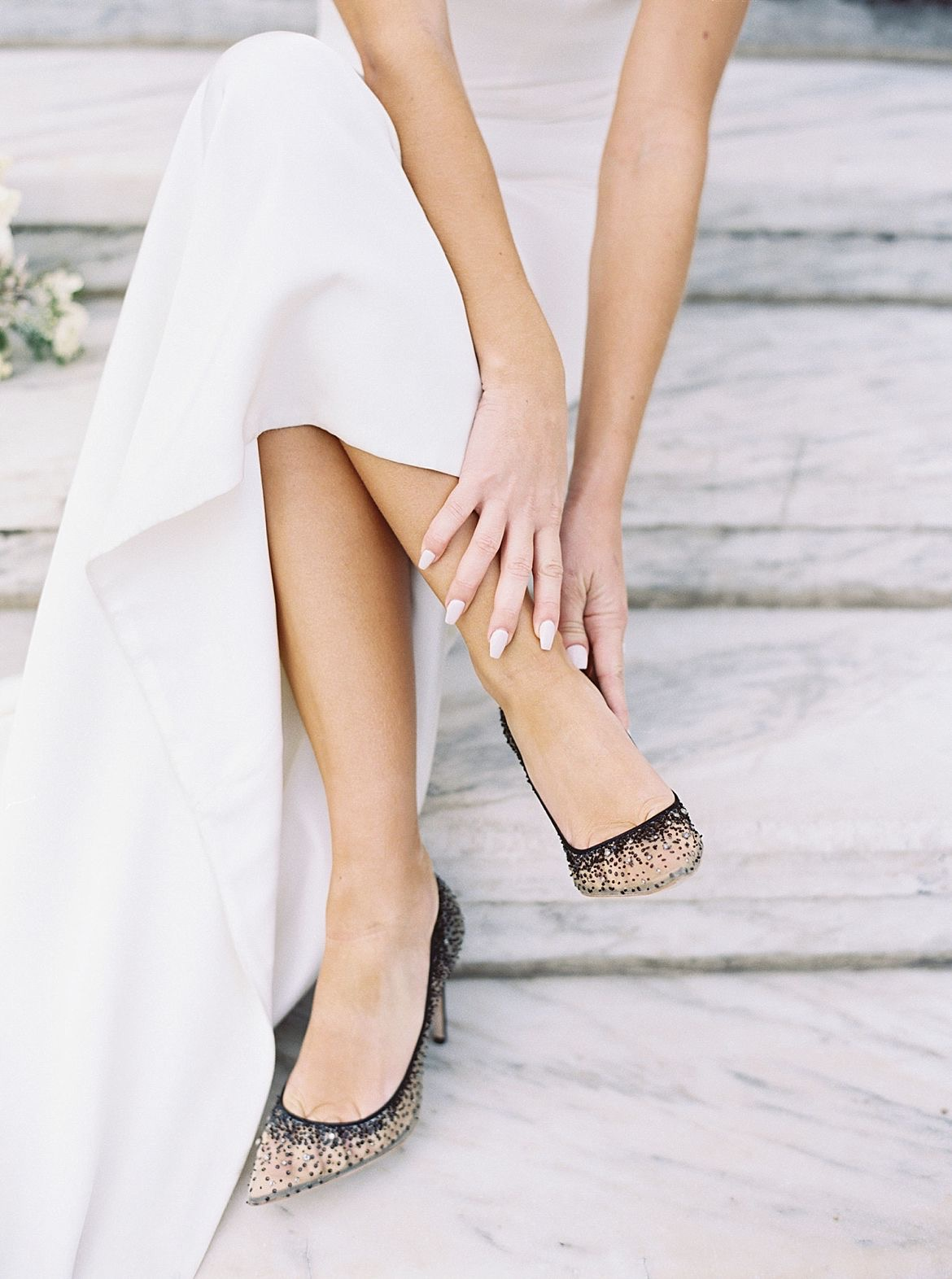 Black White Bridal Inspiration