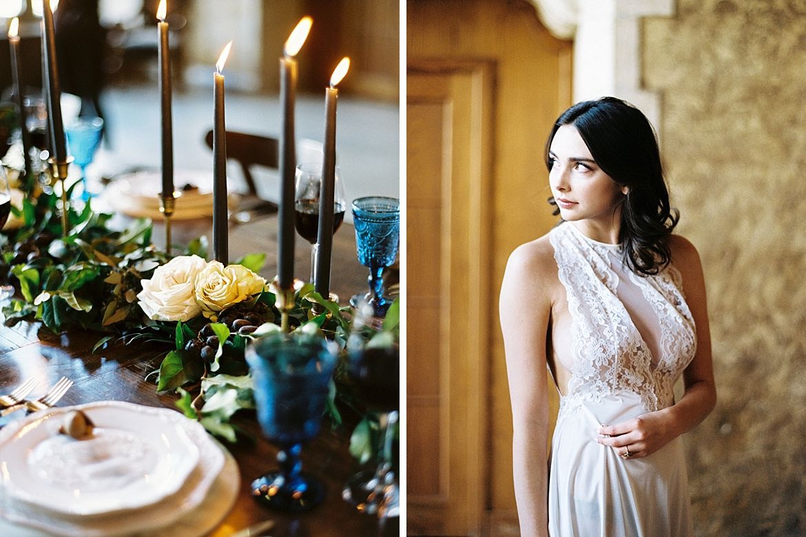 Moody Wedding Inspiration