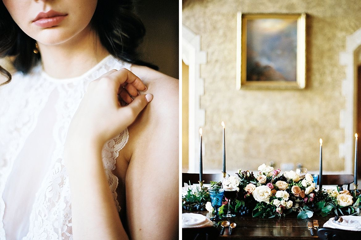 Dark Wedding Inspiration