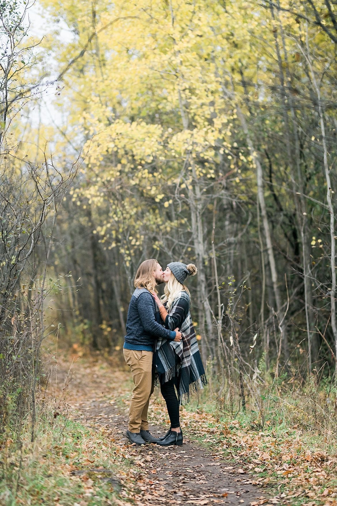 Snowy Engagement Session Inspiration