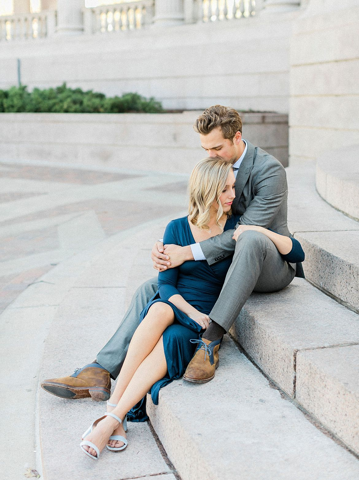 Downtown Denver Engagement Photography