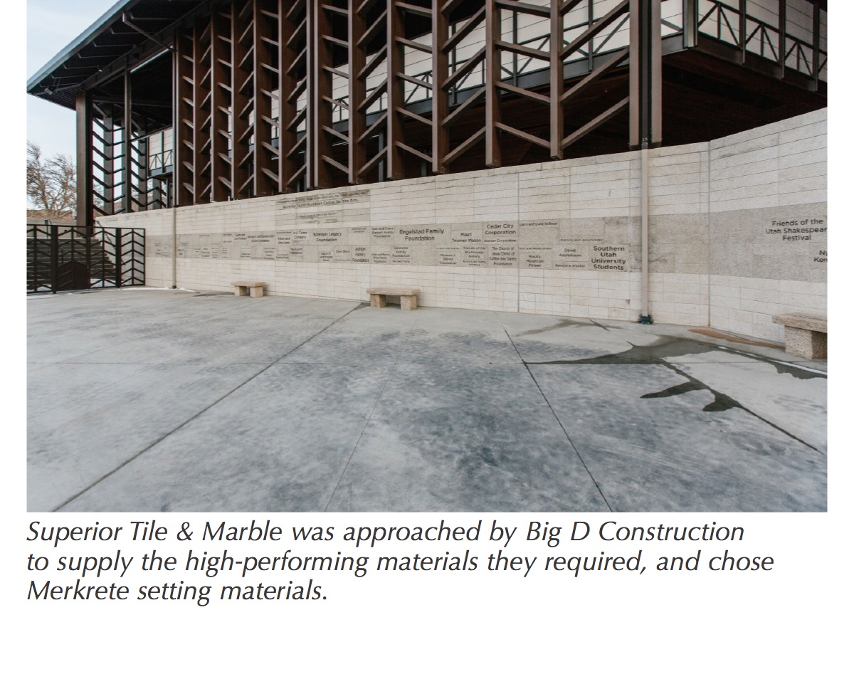 Features tileletter developed in collaboration between big d construction ntca five star contractor superior tile marble and blalock partners the theater seats dailygadgetfo Gallery