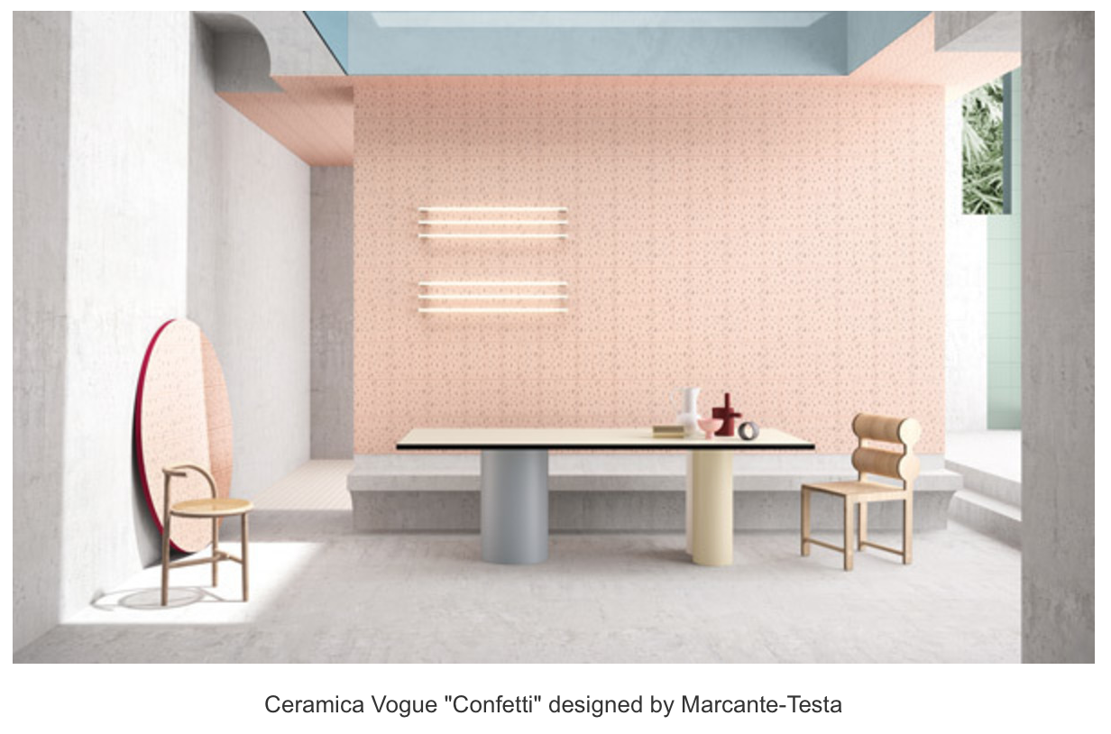 Industry news tileletter stop by the ceramics of italy pavilion booths 2219 2319 where 15 brands will showcase the latest trends in tile from porcelain emulating terrazzo dailygadgetfo Image collections