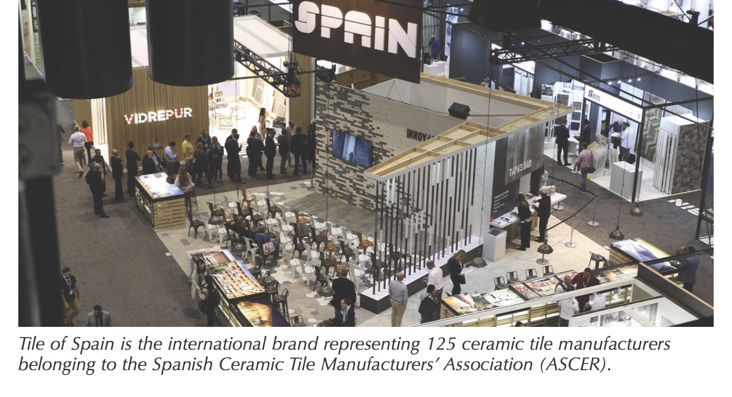 Tile Of Spain Wows Coverings 2018 With Global Design Trends And
