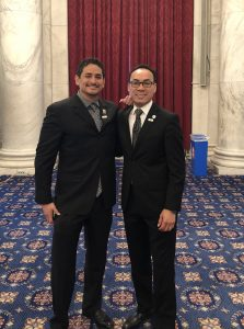 Bautista meets Rendon of Regional Hispanic Contractors Association Board of Directors