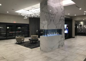 DoubleTree Lafayette East lobby