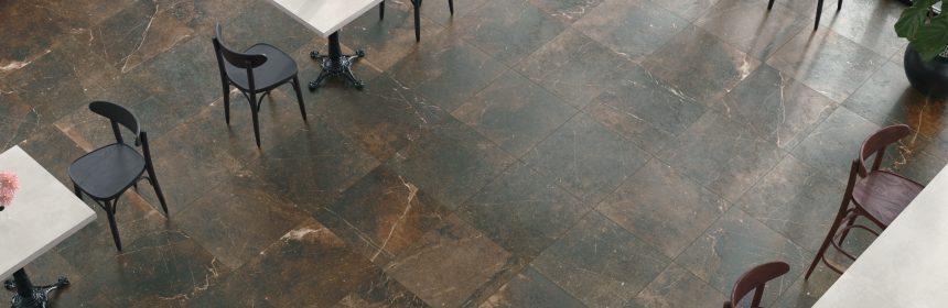 beautiful dark hued tile