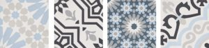 Cement tiles like these from Bati Orient