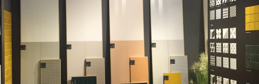 VitrA Mode was one of the new tile systems launched at Coverings.