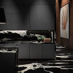 Python Black granite from Antolini