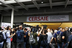 Cersaie opening day
