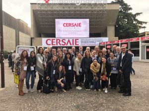 Journalists and architects at Cersaie