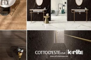Cotto d'Este three new collections