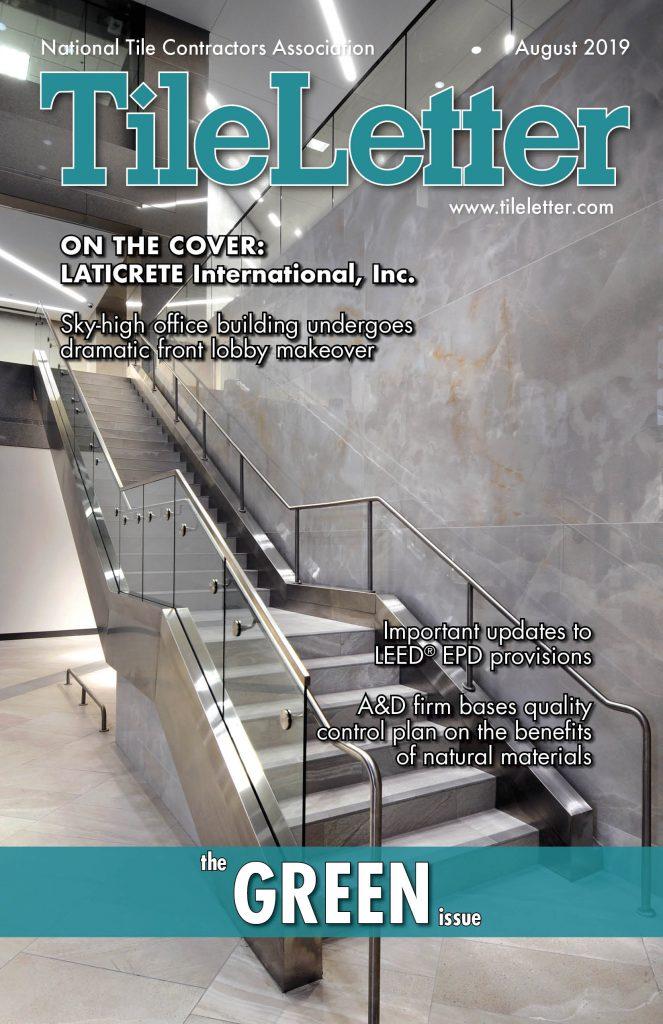 TileLetter August Cover