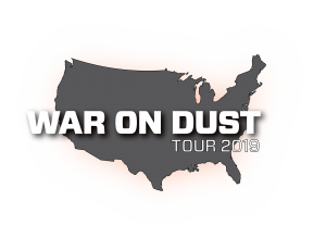 iQ War on Dust Logo