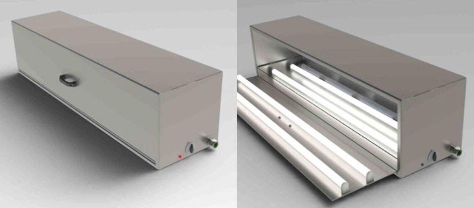 Larson UV oven box