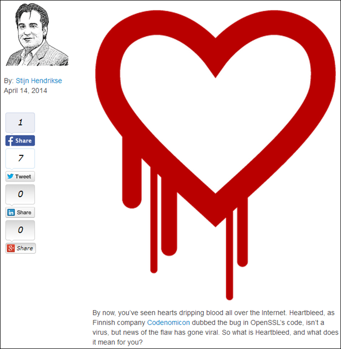 Acumatica Heartbleed Bug