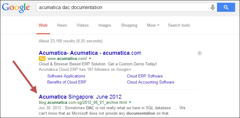 acumatica dac documentation