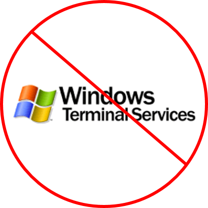 Acumatica and Windows Terminal Server