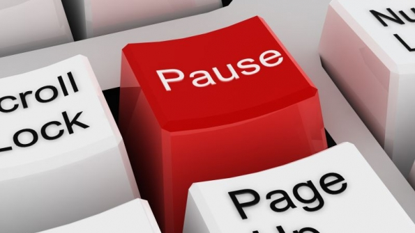 The Pause Button