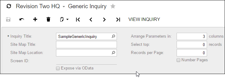 Building Generic Inquiries Isn't Scary