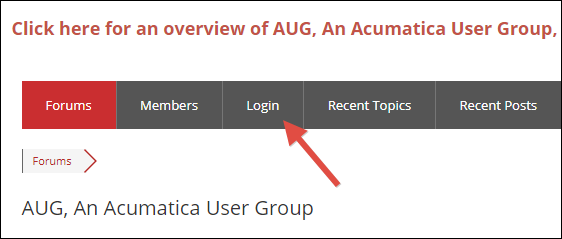 AUG, An Acumatica User Group