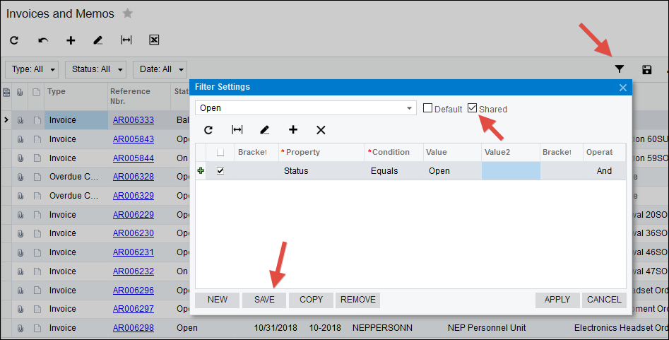 Acumatica Dashboard Tips and Tricks (Part 2)
