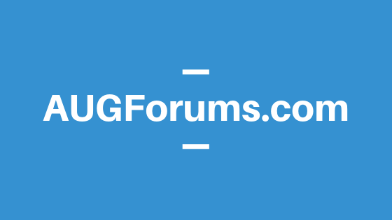 TimRodman.com is now augforums.com