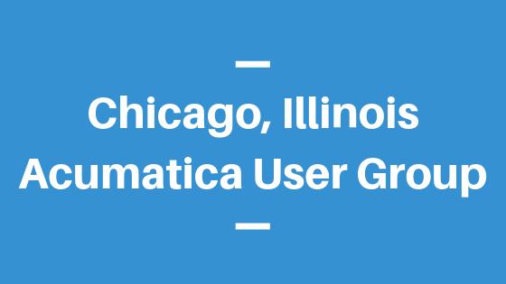 Acumatica User Group in Chicago,Illinois