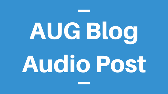 AUG Blog Audio Post