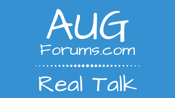 AUGForums.com Real Talk Podcast