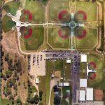 Birdseye view of Premier Baseball of TexasSports Complex