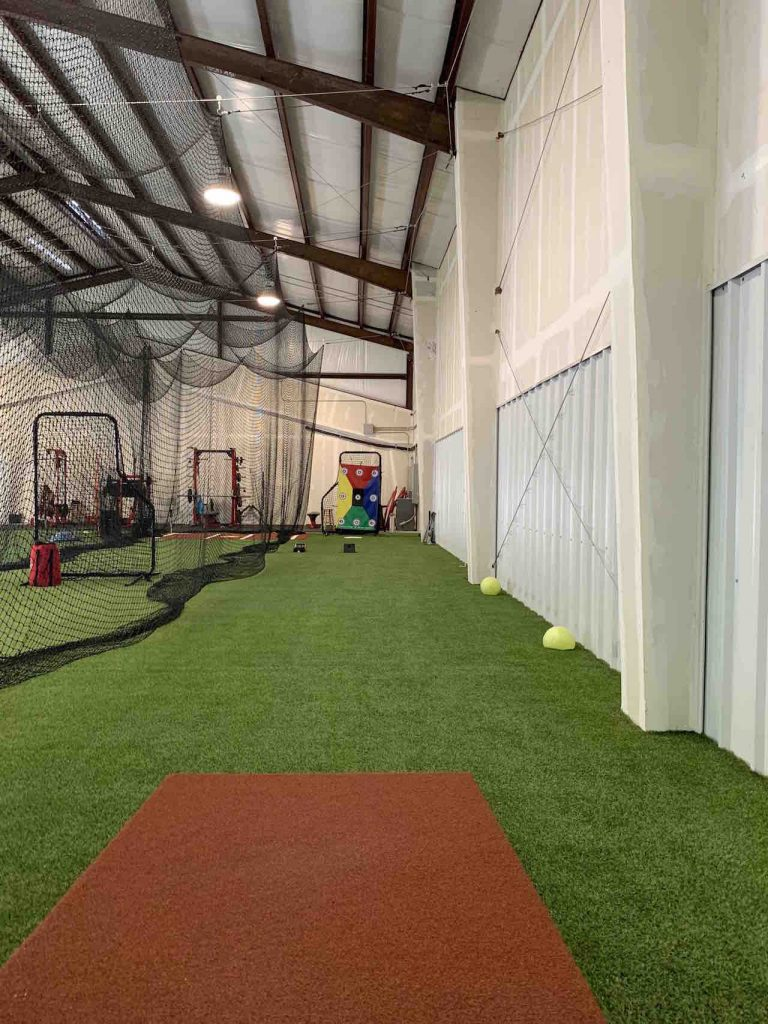 Inside the Athletic Future facility in Tomball, Texas