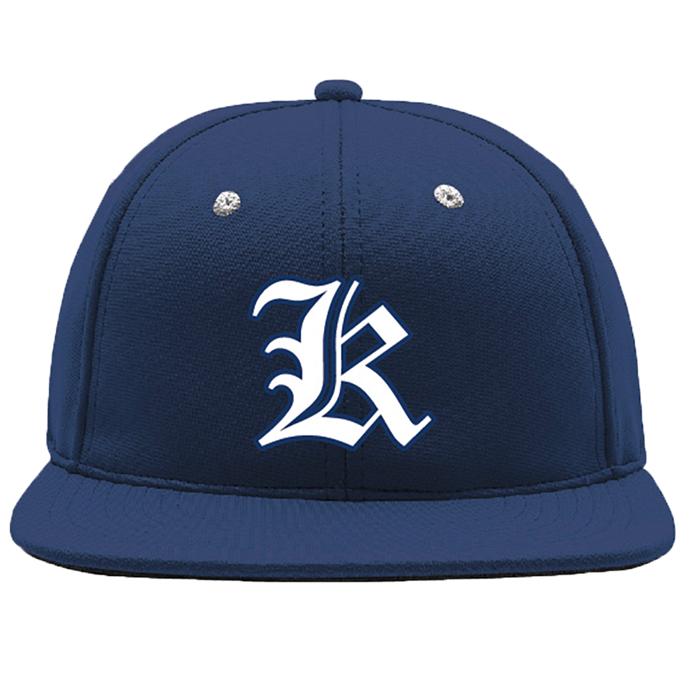 Tomball Kings baseball cap, front.