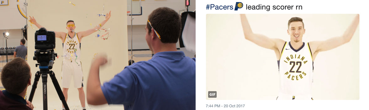Pacers photo shoot results