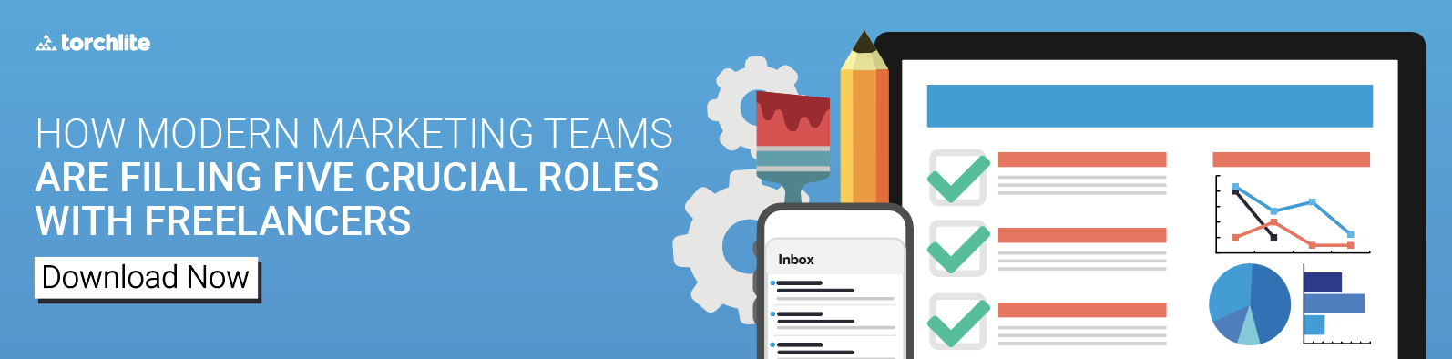 Modern Marketing Teams are Filling Crucial Roles with Freelancers. Download E-Book Now