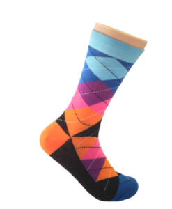 Multi-colored-Argyle-Socks