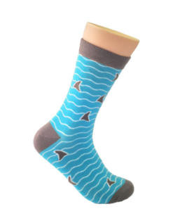 Shark-Fins-Socks