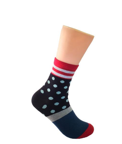 Blue-with-White-Pockadot-Socks