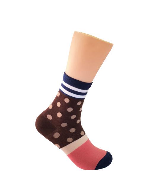Brown-and-Beige-Socks